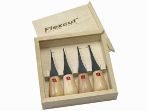 Flexcut FR804 Micro - Palm Gouge Set