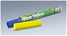"""Kneadatite Blue/Yellow (""""Green Stuff"""") two 3.5"""" bars A+BShipping is $3.49ea Click on description"""