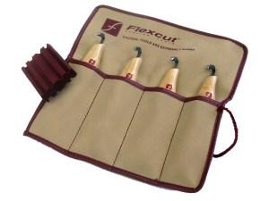 Flexcut KNL150 Left-Handed Scorp Set