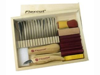 Flexcut SK108 21 pc. Deluxe Starter Set
