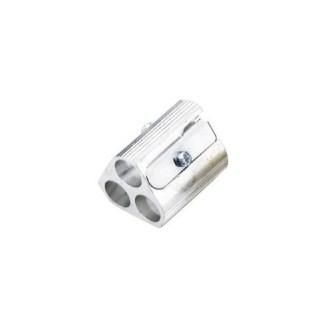 Magnesium Triple-Hole Sharpener, Replaceable Blades
