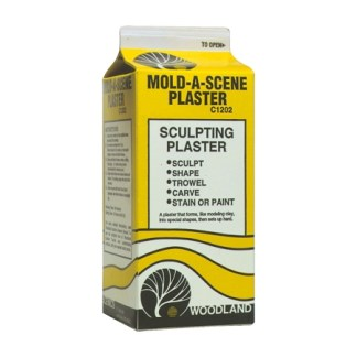 Mold-A-Scene is a plaster (1/2 gal.)