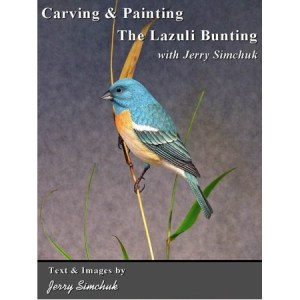 Carving & Painting the Lazuli Bunting