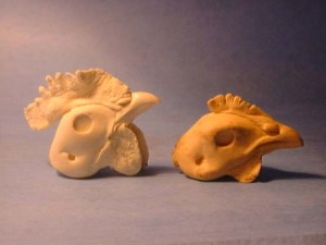 CHICKEN SMALL COMB #300 reference cast heads
