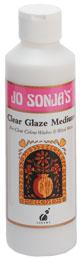 Jo Sonja's Clear Glaze Medium 8OZ