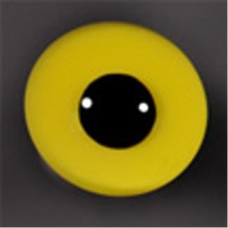 Tohickon Off-wire Goldeneye, Pin pupil, Yellow 9mm