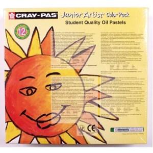 Cray-Pas Jr. Artist ColorPack, 432 sticks, 12 colors