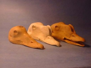 EIDER KING HEN #110 reference cast heads