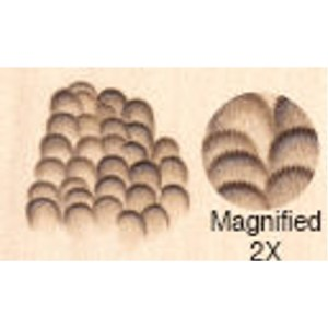 Feather Formers Tip Round- Fine (F) ~85LPI 8mm 52.08F