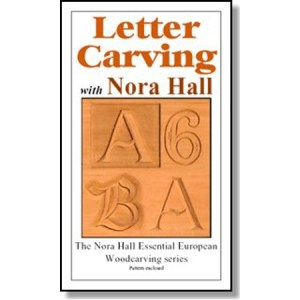 DVD - Nora Hall Letter Carving