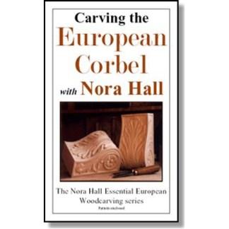 DVD - Nora Hall Carving the European Corbel