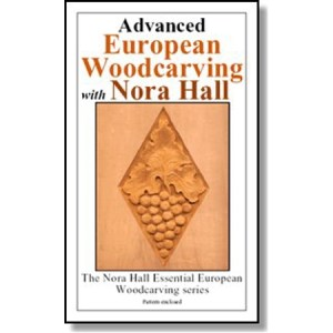 DVD - Nora Hall Advanced European Woodcarving