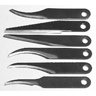 Warren Blades 6SBL - Carving Blade assortment pack