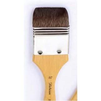 "Kazan squirrel flat wash brush 1 3/4"""