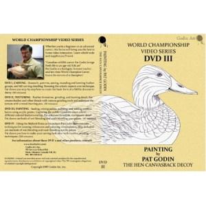 DVD - Pat Godin, Hen Canvasback Painting #3