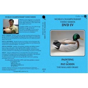 DVD - Pat Godin, Mallard Drake Painting #4