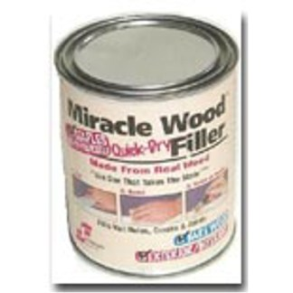 MIRACLE WOOD CAN QUICK-DRY FILLER 4 oz.