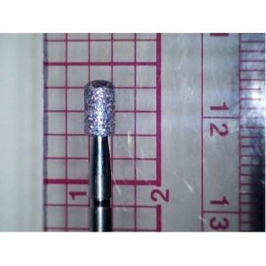 """Ruby Bur Cylinder #18 -  3/32"""" Shank Medium Grit"""