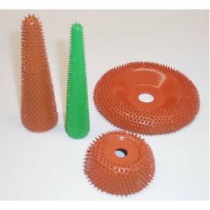 "Cone 4"" Ice Carving Saburr 7/8"" dia. Green"