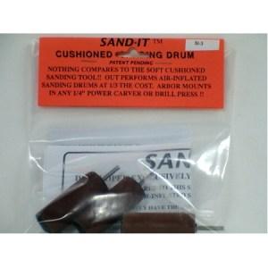 "Sand-IT Cushioned Drum Kit 3/4"" x 2"" SI-3"