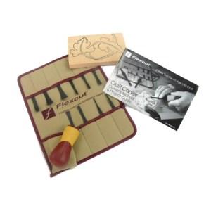Flexcut SK107 11-Piece Craft Gouge Set  Kit