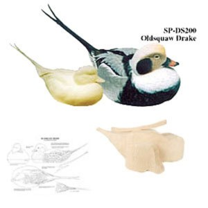 Kit-  OLD SQUAW DRAKE COMPETITION WOOD CARVING KIT