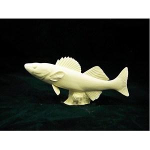 Walleye Fish by Josh Guge, Study Cast