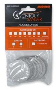 Arbortech Contour  2 Inch Sanding Disks 80 grit