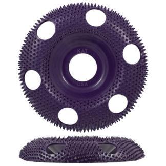 Holey Galahad - Round Extreme Coarse Purple