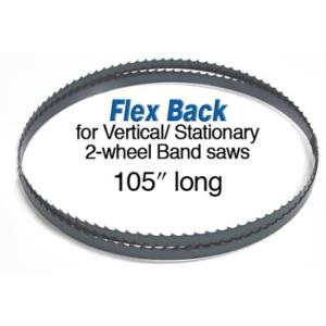 """Olson 105"""" Bandsaw Blade, 1/2"""" W, .025 6 TPI, Hook Tooth"""