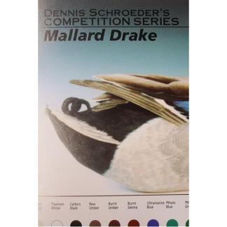 MALLARD DRAKE COLOR CARD