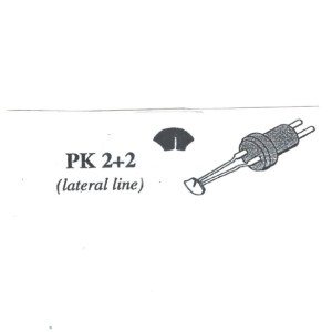 Pat Kennedy's Woodburning Fish Scale Tips PK - 1 + 1 RT