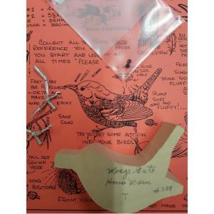 Bird Carving Kit Wren: House, Tupelo