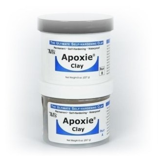 Aves Apoxie (Epoxy) Clay Super White Apoxie (Epoxy) 1/4 lb.