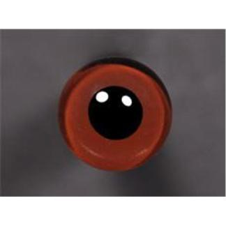 Tohickon Glass Eyes Off-Wire #112 - 06mm Med.Brown M/P