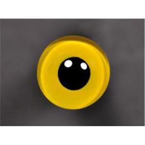 Tohickon Glass Eyes Off-Wire #112 - 12mm YELLOW M/P