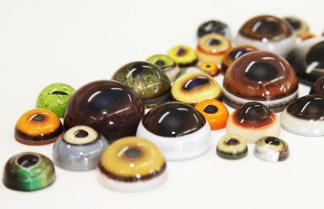 EYES Tohickon Glass EYES, Sold by the pair