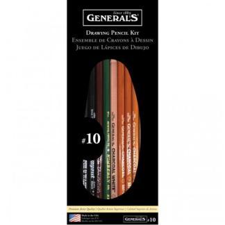 GENERALS #10 BASIC DRAWING KIT