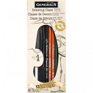 GENERALS #G-1 Drawing Class Essential Tools Kit