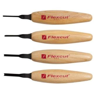 Flexcut MT600 45 deg. Parting Micro Tool Set