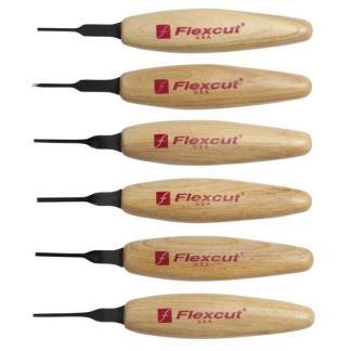 Flexcut MT910 1.5mm Mixed Profile Micro Tool Set