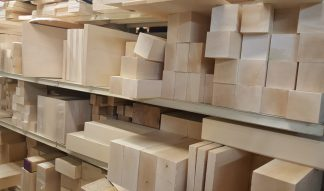 "Basswood Carving Blocks 1 1/2"""