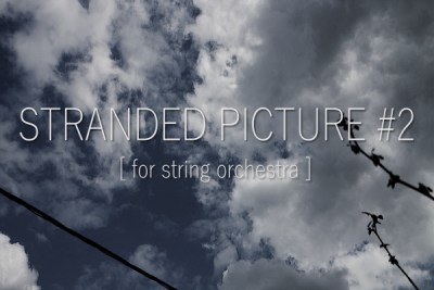 Stranded Picture #2 – Sheet Music