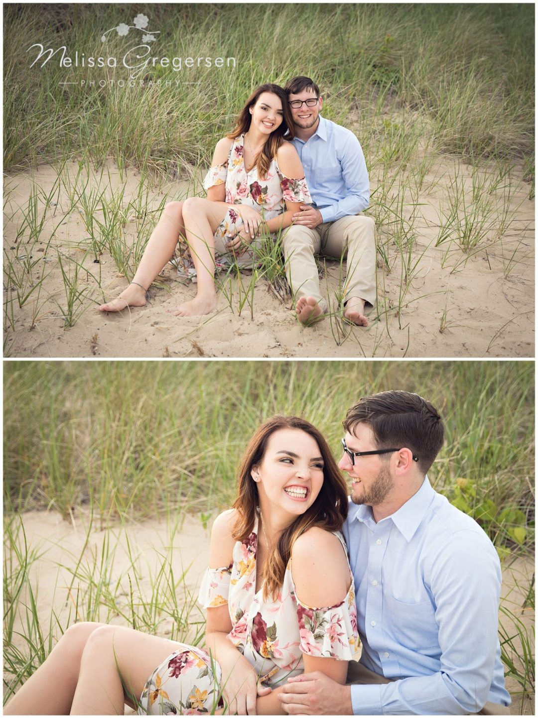 Zayda and Cole :: {Saint Joseph Michigan Engagement Photographer}
