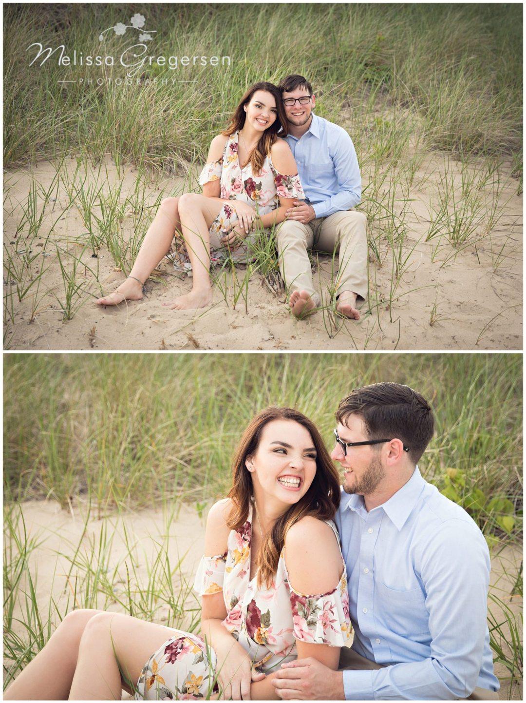 Zayda and Cole :: {Saint Joseph Michigan Engagement Photographer}