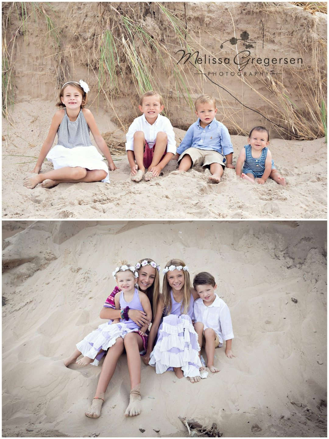 Create lasting family photographs while vacationing in South Haven and Saint Joseph Michigan