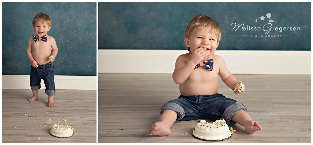 What to Expect During Your Baby's Cake Smash Session :: {Kalamazoo Baby Photographer}