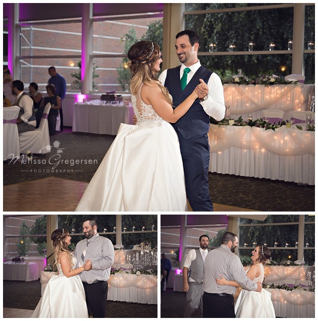 Special dances with the bride!