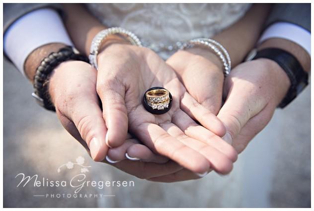 Nothing like the perfect wedding ring shot.