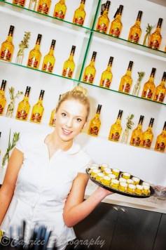 liquor 43, barmaids, barmaid holding a drinks tray